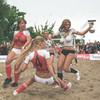 Датские порноактрисы обыграли немецких в футбол