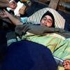 В Парагвае уволенные водители распяли себя на крестах
