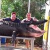 Двое жителей Флориды поймали 350-килограммового аллигатора