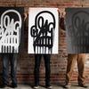 Граффити-художник научился расписывать стены с помощью дрона-квадрокоптера