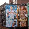 В сети появилось видео, посвящённое уличным рекламным художникам из Нью-Йорка