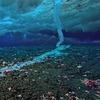 Операторы канала ВВС засняли «ледяной палец смерти»