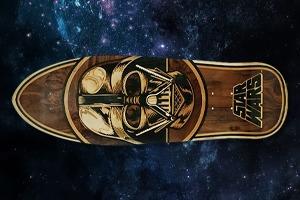 FURFUR и скейт-шоп «Сквот» разыгрывают лимитированную деку Santa Cruz x Star Wars