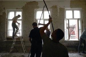 Фоторепортаж: Как мы сделали ремонт в мастерской силами редакции