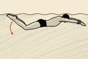 Как плавать со связанными руками