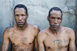 Южноафриканские тюремные банды и их татуировки