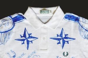 Коллекционная рубашка поло FURFUR и Fred Perry будет выставлена в Токио, Лондоне и Гонконге