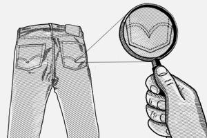 Внимание к деталям: Откуда взялась строчка на заднем кармане джинсов