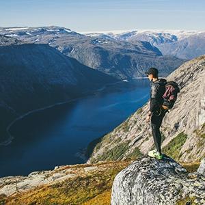 Герой недели: Путешествие по Норвегии в формате ежедневной трансляции