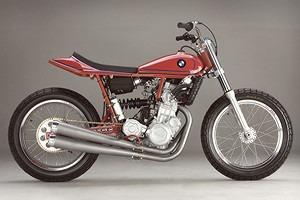 История и особенности мотоциклов для гонок по грязевому овалу —флэт-трекеров