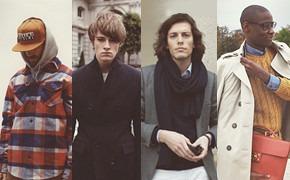 Фантастическая четверка: мужские образы из Англии, Америки, Франции и Италии