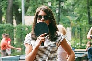 Фоторепортаж: Женский турнир по пинг-понгу в Нескучном саду