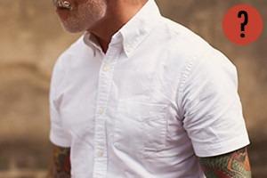 Как носить рубашку с коротким рукавом?