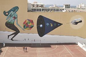 Скетчбук: Участники граффити-дуэта из Киева Interesni Kazki рассказывают о своих лучших работах