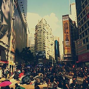 Герой недели: Прямая трансляция протестов в Гонконге