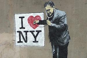 Бэнкси в Нью-Йорке: Как британский художник захватил столицу граффити
