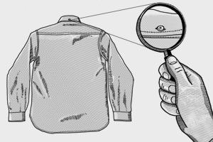 Внимание к деталям: Зачем нужна задняя пуговица на воротнике рубашки