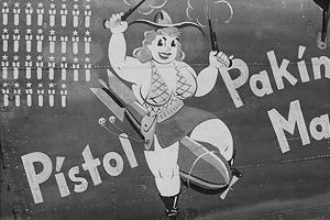 Рисунки на самолетах времен Второй мировой войны