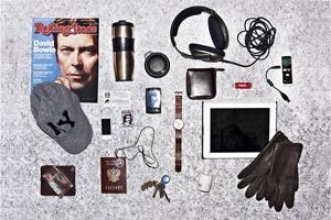 Личный состав: Предметы Александра Кондукова, главного редактора журнала Rolling Stone