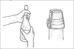 Совет: Как сделать фонтан из шампанского