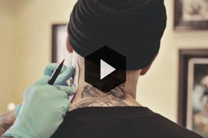 Репортаж из тату-студии Дмитрия Речного XK Tattoo
