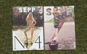 Special Issue: Журнал о футболе, моде и девушках Sepp