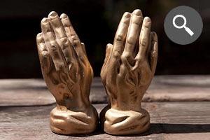 Находка недели: Статуэтки «Руки молящегося»