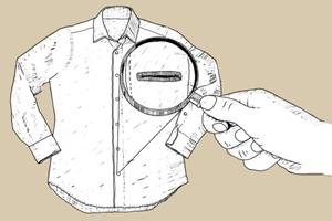 Внимание к деталям: Для чего нижняя петля на сорочках расположена горизонтально