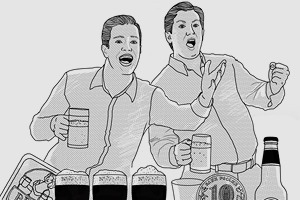 Спорный момент: 14 алкогольных пари, чтобы выиграть выпивку в баре