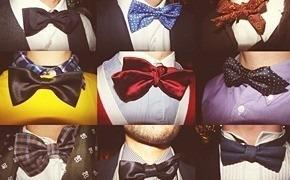Детали: Мужские бабочки на джентльменском вечере FURFUR