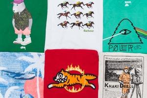 Ревизия одним кадром: Яркие футболки из новых коллекций