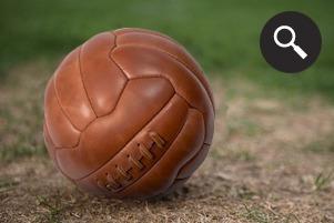 Находка недели: Винтажный футбольный мяч