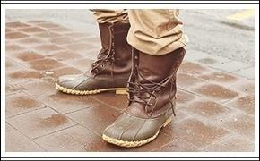 Лягушачьи лапки: ботинки типа duck boot, или «лягушки»