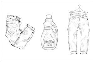 Совет: Как стирать джинсы из сухого денима