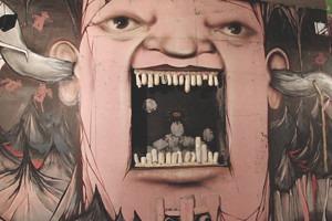 Скетчбук: Уличный художник Nomerz рассказывает о своих избранных работах