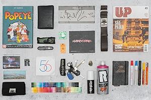 Личный состав: Предметы Артёма Ren, разработчика граффити-краски Rush