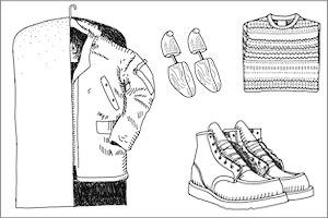 Совет: Как хранить зимнюю одежду и обувь