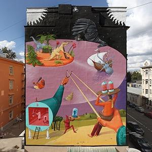 Как стрит-арт взаимодействует с государством: Отвечают кураторы выставок и уличные художники