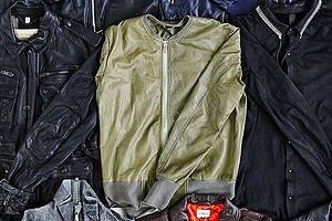 Ревизия одним кадром: Кожаные куртки из новых коллекций