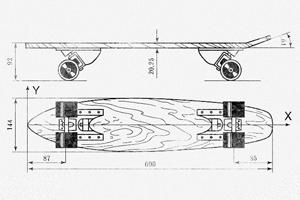 Как собрать скейт по советским чертежам