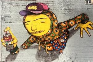 «Мы хотим сломать границу между богатством и бедностью»: Интервью с граффити-командой Os Gemêos