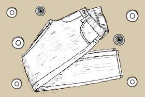 Внимание к деталям: Зачем нужны металлические заклепки на джинсах