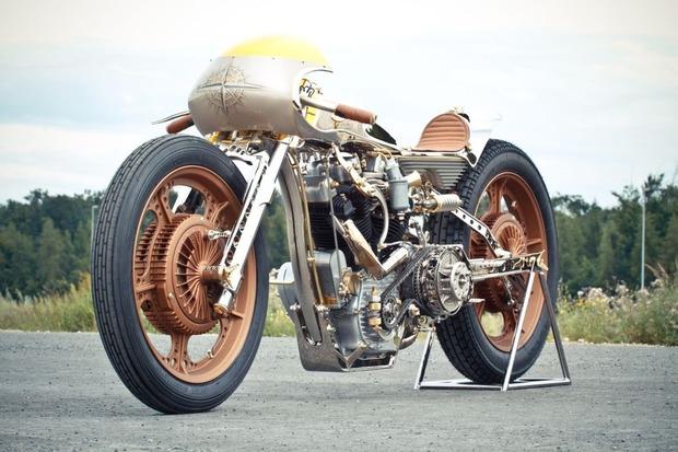 Мотоцикл немецкой мастерской Thunderbike победил в чемпионате мира по кастомайзингу. Изображение № 2.