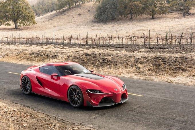 Toyota представила концепт спорткара FT-1. Изображение № 9.