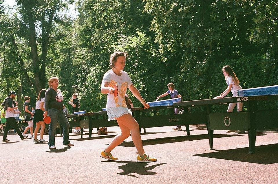 Фоторепортаж: Женский турнир по пинг-понгу в Нескучном саду. Изображение № 26.