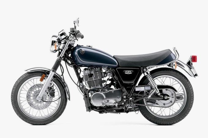 Yamaha показала первые изображения обновлённого байка SR400. Изображение № 3.