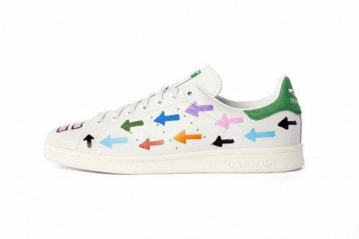 Adidas выпустит коллекцию кроссовок Stan Smith, вручную разрисованных Фарреллом. Изображение № 11.
