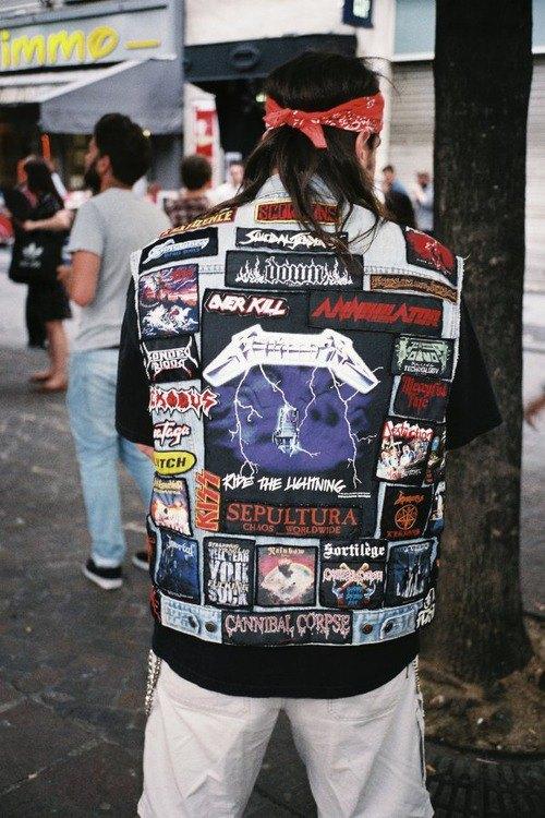 Battle Jackets: Tumblr-блог, посвящённый жилетам с нашивками. Изображение № 9.