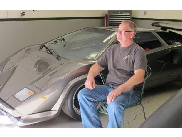 Американец за 17 лет собрал у себя в подвале реплику Lamborghini Countach. Изображение № 12.