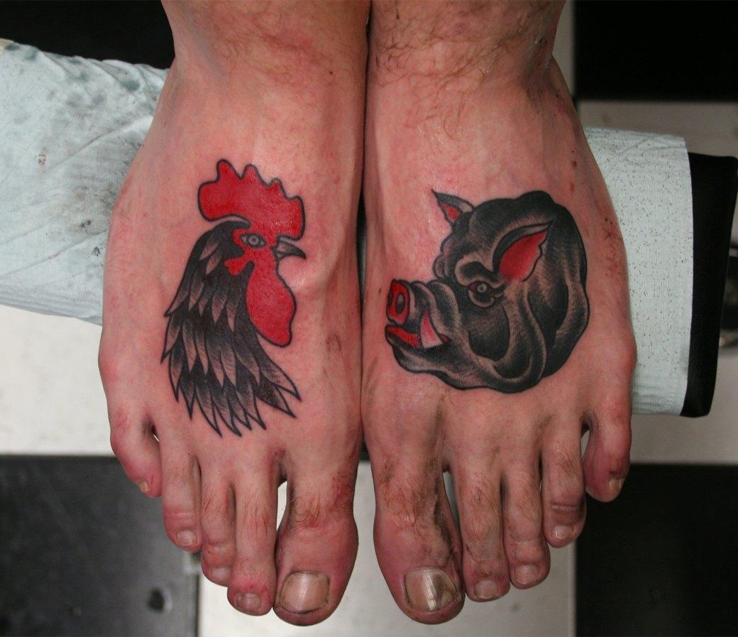 Всё о татуировках на свиньях. Изображение № 7.